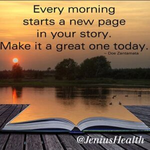 Every Morning new page of life
